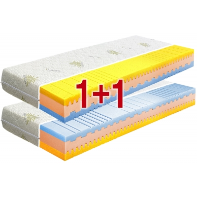 Sendvičová matrace ORTHOPEDIC VISCO 1+1