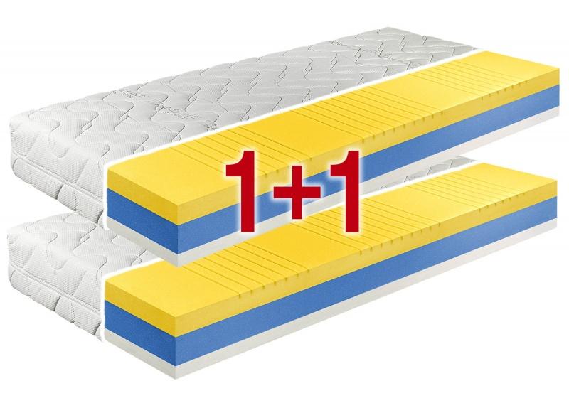 LUXURY TOP 1+1 matrace z líné pěny